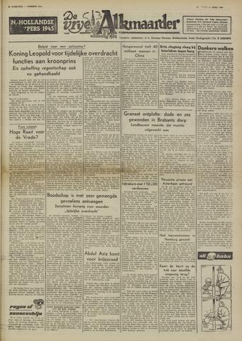 De Vrije Alkmaarder 1950-04-17