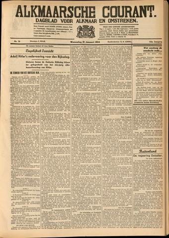 Alkmaarsche Courant 1934-01-31