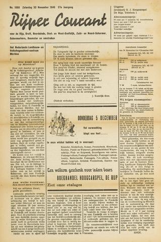 Rijper Courant 1946-11-30