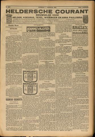 Heldersche Courant 1926-08-07