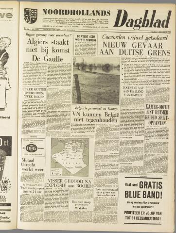 Noordhollands Dagblad : dagblad voor Alkmaar en omgeving 1960-12-09
