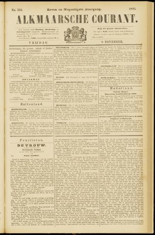 Alkmaarsche Courant 1895-11-08