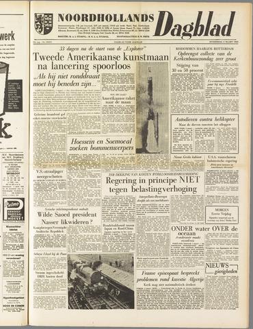 Noordhollands Dagblad : dagblad voor Alkmaar en omgeving 1958-03-06