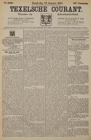 Texelsche Courant 1911-01-12