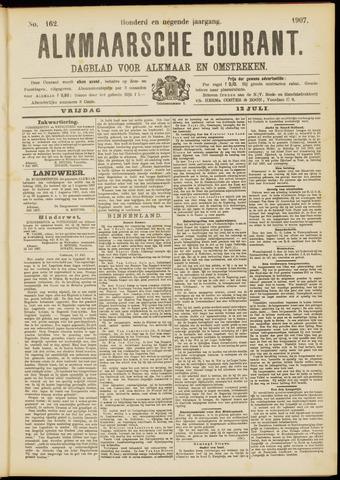 Alkmaarsche Courant 1907-07-12