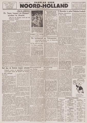 Dagblad Noord-Holland, Schager editie 1943-11-08