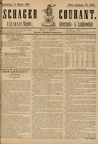 Schager Courant 1889-03-14