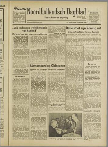 Nieuw Noordhollandsch Dagblad : voor Alkmaar en omgeving 1946-06-06