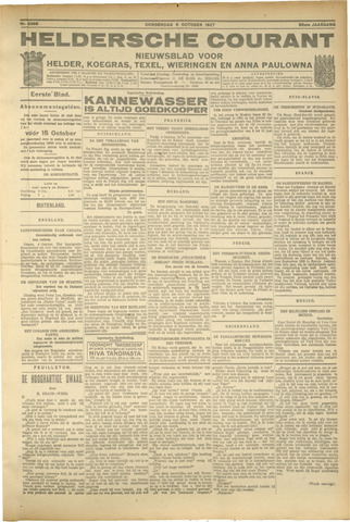 Heldersche Courant 1927-10-06