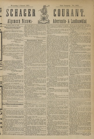 Schager Courant 1911-01-04