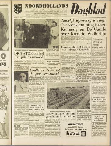 Noordhollands Dagblad : dagblad voor Alkmaar en omgeving 1961-06-01