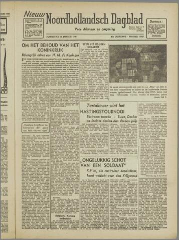 Nieuw Noordhollandsch Dagblad : voor Alkmaar en omgeving 1946-01-10