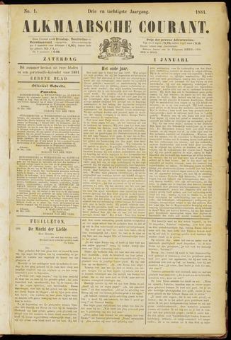 Alkmaarsche Courant 1881-01-01