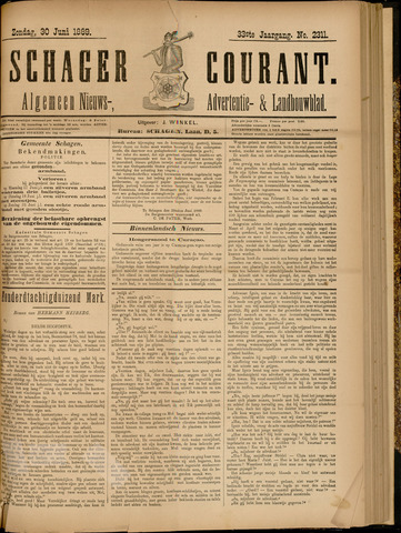 Schager Courant 1889-06-30