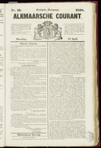Alkmaarsche Courant 1858-04-19