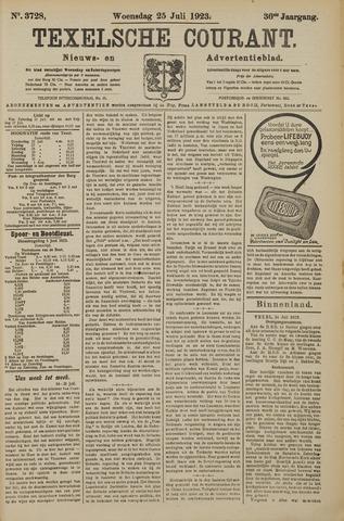Texelsche Courant 1923-07-25