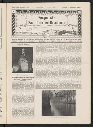 Bergensche bad-, duin- en boschbode 1939-08-12