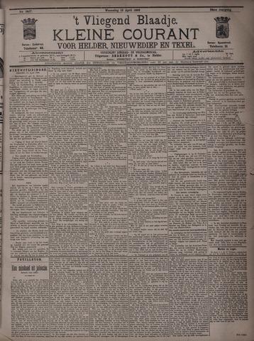 Vliegend blaadje : nieuws- en advertentiebode voor Den Helder 1896-04-15