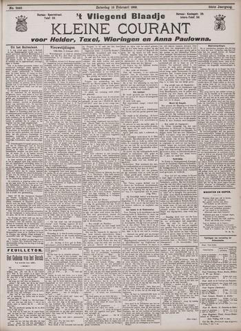 Vliegend blaadje : nieuws- en advertentiebode voor Den Helder 1906-02-10