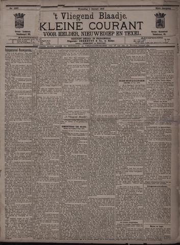 Vliegend blaadje : nieuws- en advertentiebode voor Den Helder 1896-01-01