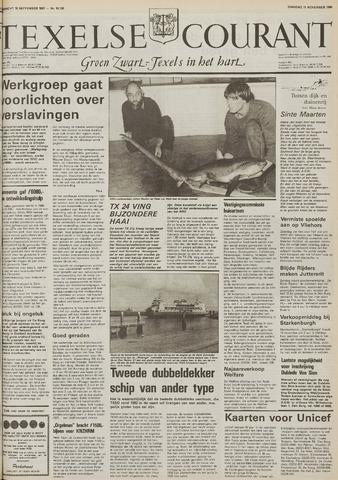 Texelsche Courant 1986-11-11