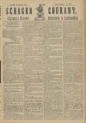 Schager Courant 1911-08-19