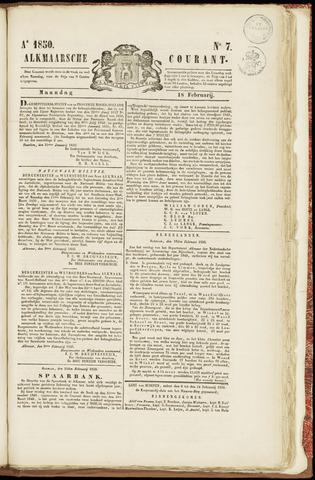 Alkmaarsche Courant 1850-02-18