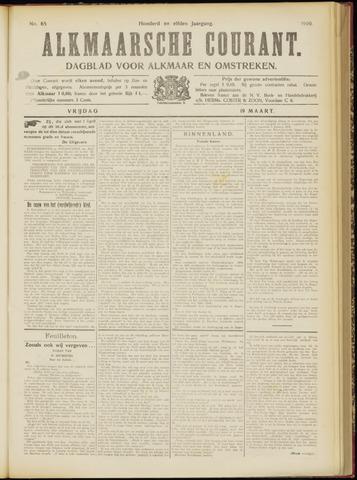 Alkmaarsche Courant 1909-03-19