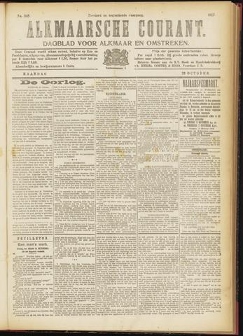 Alkmaarsche Courant 1917-10-22
