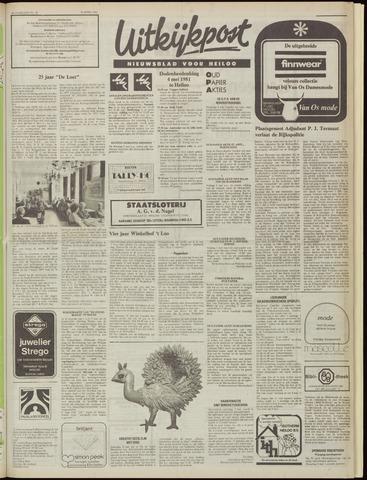 Uitkijkpost : nieuwsblad voor Heiloo e.o. 1981-04-29