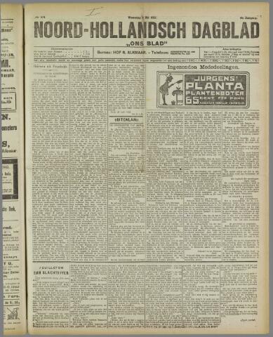 Ons Blad : katholiek nieuwsblad voor N-H 1922-05-03