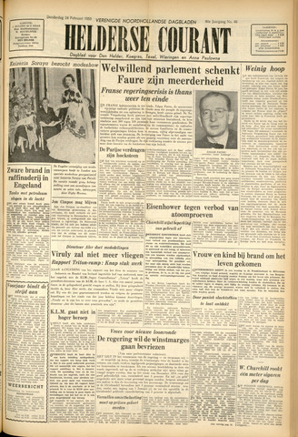 Heldersche Courant 1955-02-24