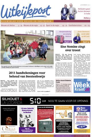 Uitkijkpost : nieuwsblad voor Heiloo e.o. 2011-11-09