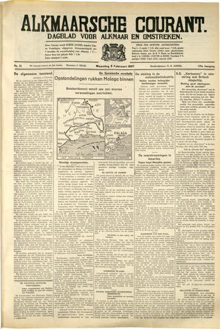 Alkmaarsche Courant 1937-02-08