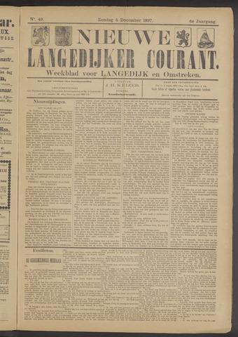 Nieuwe Langedijker Courant 1897-12-05