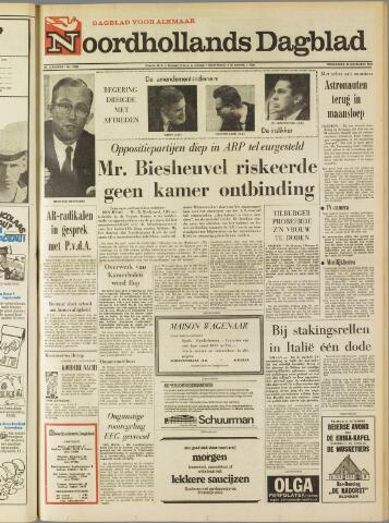 Noordhollands Dagblad : dagblad voor Alkmaar en omgeving 1969-11-20
