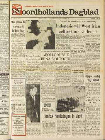 Noordhollands Dagblad : dagblad voor Alkmaar en omgeving 1969-07-23