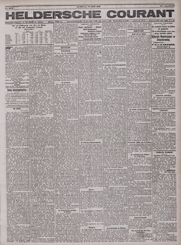 Heldersche Courant 1919-06-14