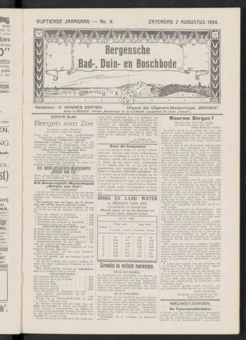 Bergensche bad-, duin- en boschbode 1924-08-02