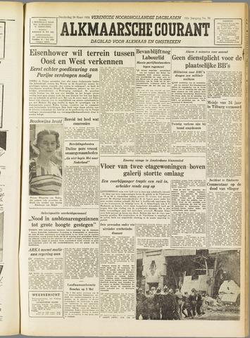 Alkmaarsche Courant 1955-03-24