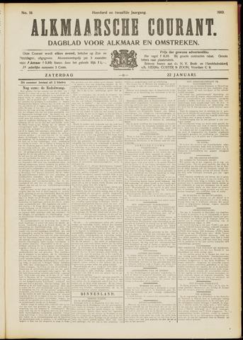 Alkmaarsche Courant 1910-01-22