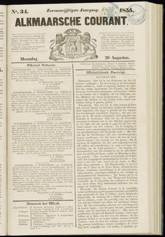 Alkmaarsche Courant 1855-08-20