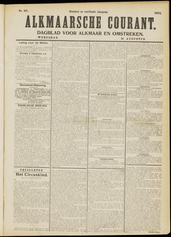 Alkmaarsche Courant 1912-08-21