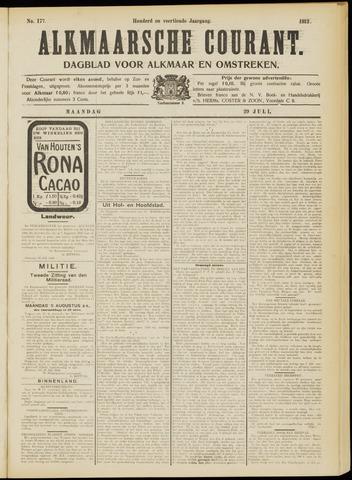 Alkmaarsche Courant 1912-07-29