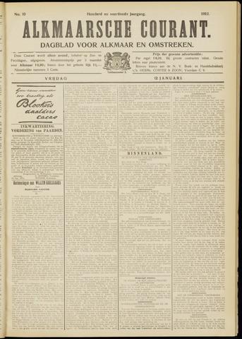 Alkmaarsche Courant 1912-01-12