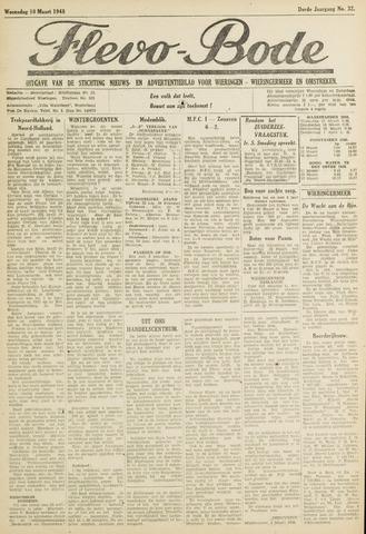 Flevo-bode: nieuwsblad voor Wieringen-Wieringermeer 1948-03-10