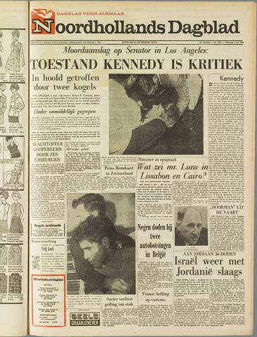 Noordhollands Dagblad : dagblad voor Alkmaar en omgeving 1968-06-05