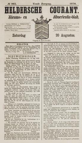 Heldersche Courant 1870-08-20