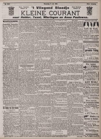 Vliegend blaadje : nieuws- en advertentiebode voor Den Helder 1902-07-09