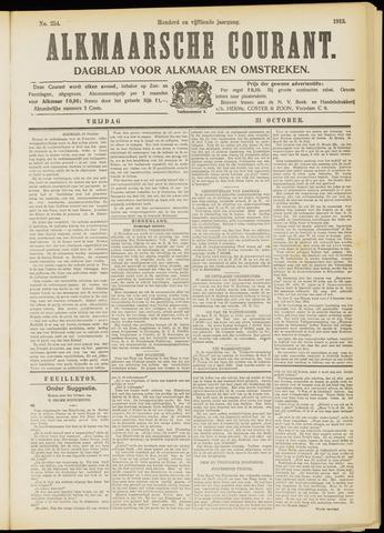 Alkmaarsche Courant 1913-10-31